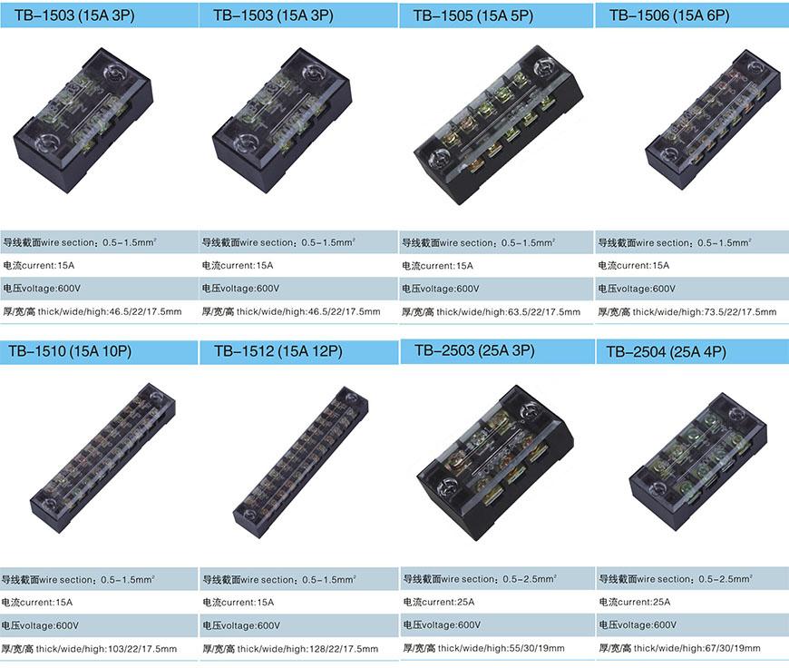 1. TB接线板-上海圣约实业