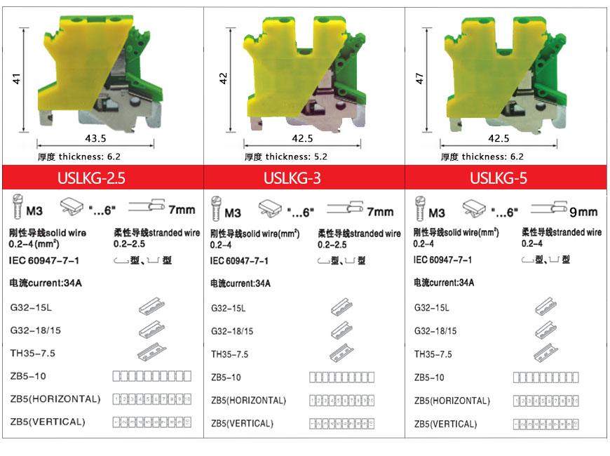 2. USLKG 接线端子-上海圣约实业